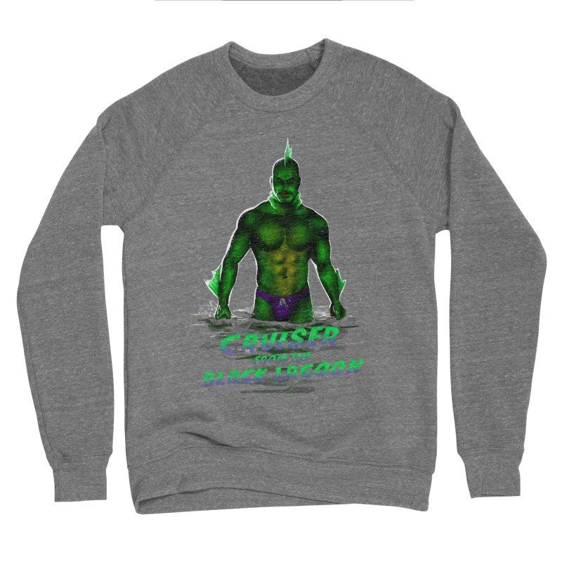 Cruiser From The Black Lagoon Men's Sponge Fleece Sweatshirt by Stephen Draws's Artist Shop