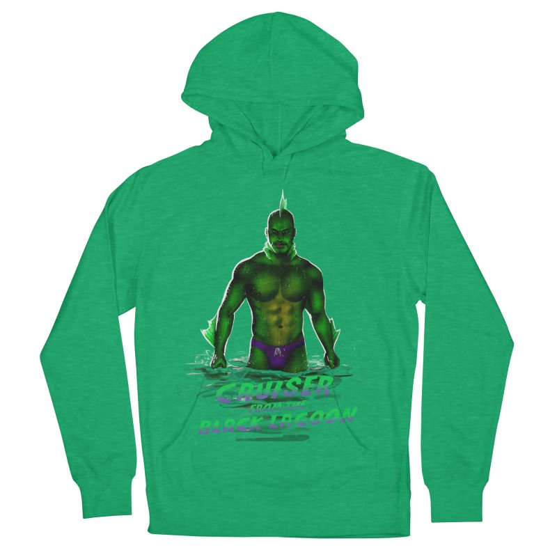 Cruiser From The Black Lagoon Men's French Terry Pullover Hoody by Stephen Draws's Artist Shop