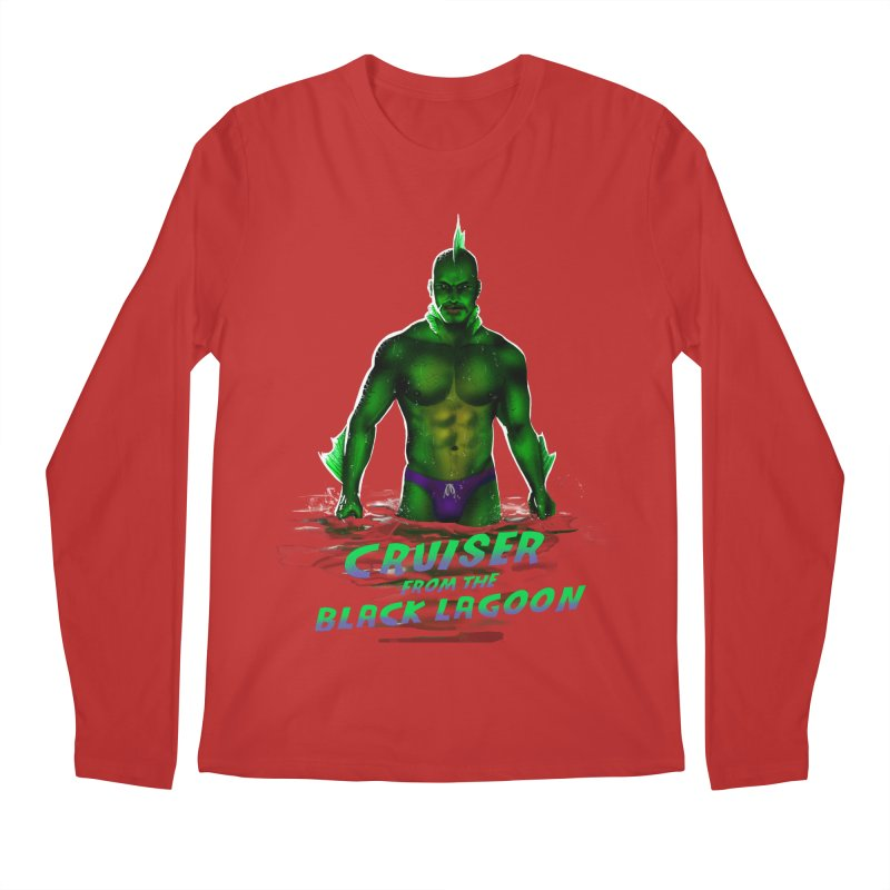 Cruiser From The Black Lagoon Men's Regular Longsleeve T-Shirt by Stephen Draws's Artist Shop
