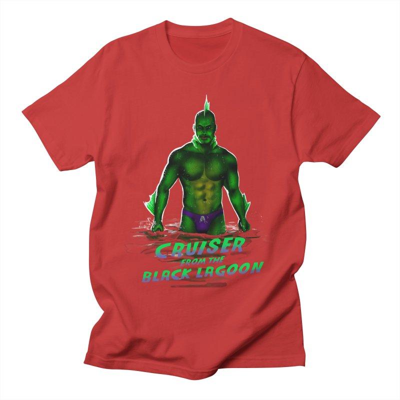 Cruiser From The Black Lagoon Men's Regular T-Shirt by stephendraws's Artist Shop