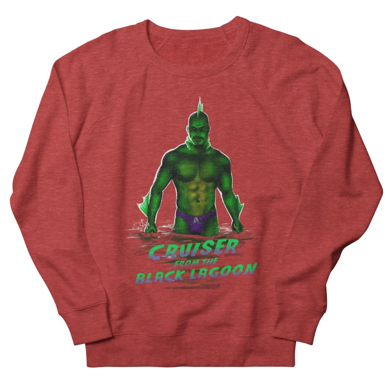 Cruiser From The Black Lagoon Men's French Terry Sweatshirt by Stephen Draws's Artist Shop