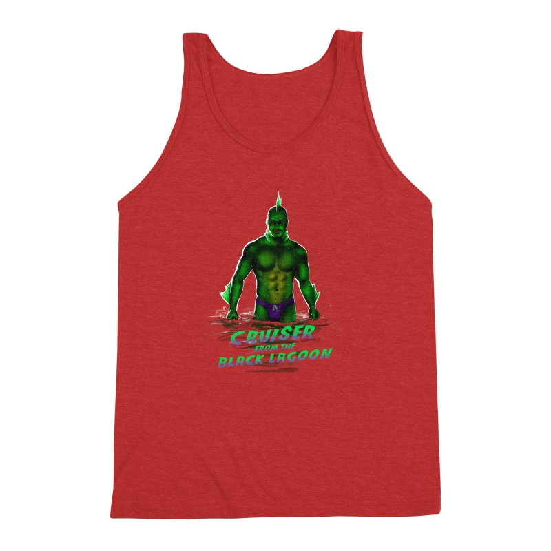 Cruiser From The Black Lagoon Men's Triblend Tank by stephendraws's Artist Shop