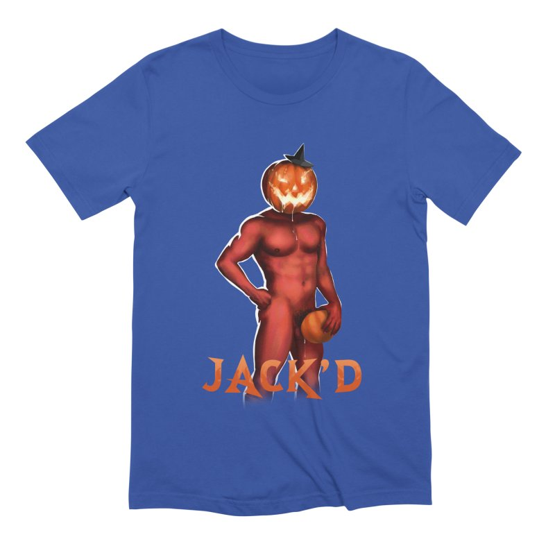 Jack'd The Headless Jock Men's Extra Soft T-Shirt by stephendraws's Artist Shop