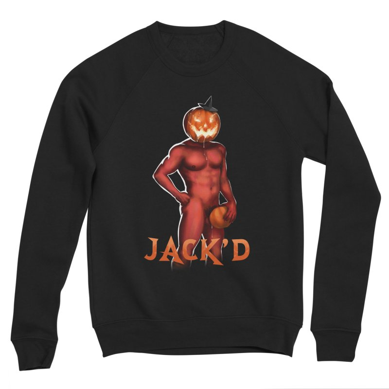Jack'd The Headless Jock Men's Sponge Fleece Sweatshirt by Stephen Draws's Artist Shop