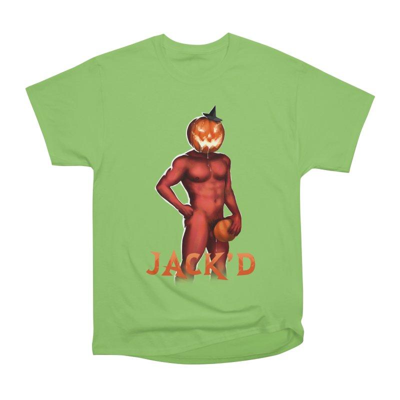 Jack'd The Headless Jock Men's Heavyweight T-Shirt by Stephen Draws's Artist Shop