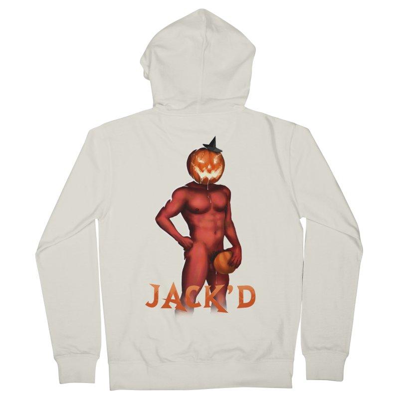 Jack'd The Headless Jock Men's French Terry Zip-Up Hoody by Stephen Draws's Artist Shop
