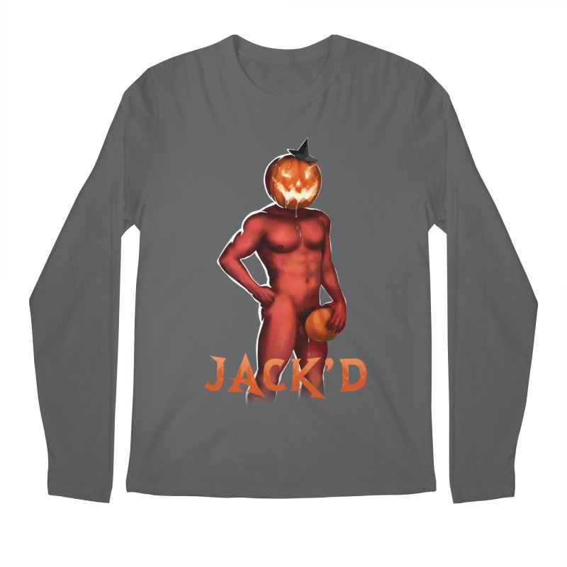 Jack'd The Headless Jock Men's Regular Longsleeve T-Shirt by Stephen Draws's Artist Shop