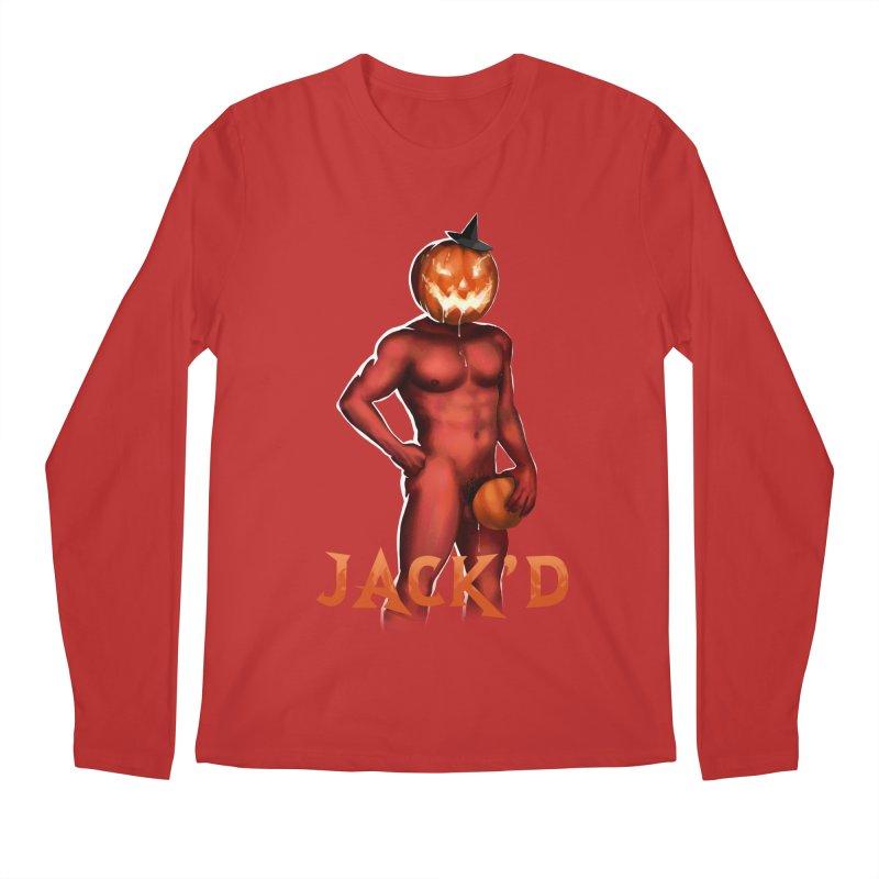 Jack'd The Headless Jock Men's Regular Longsleeve T-Shirt by Stephen Draws's Artist Shop