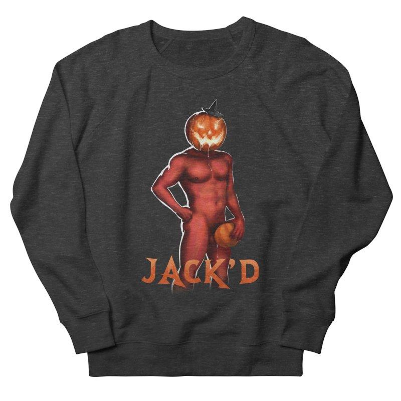 Jack'd The Headless Jock Men's French Terry Sweatshirt by Stephen Draws's Artist Shop