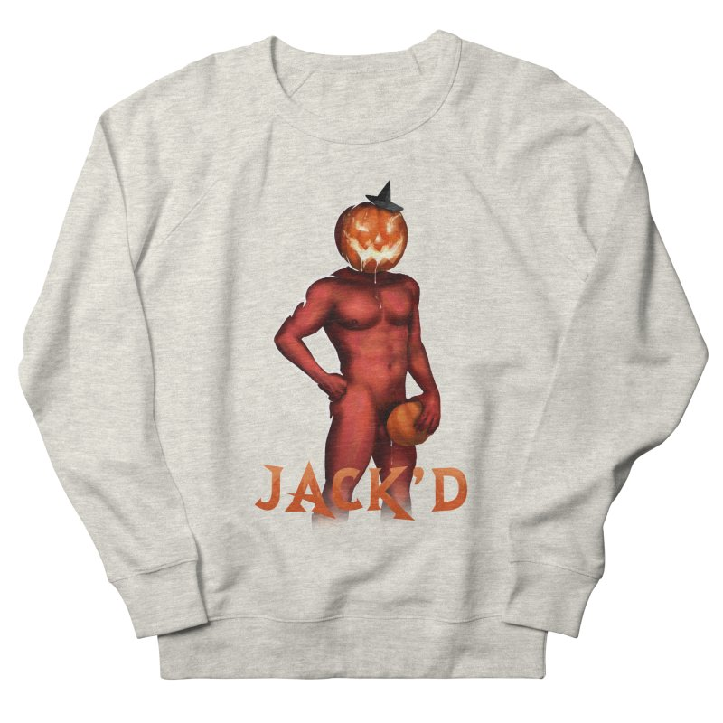 Jack'd The Headless Jock Men's French Terry Sweatshirt by Stephen Draws's Artist Shop
