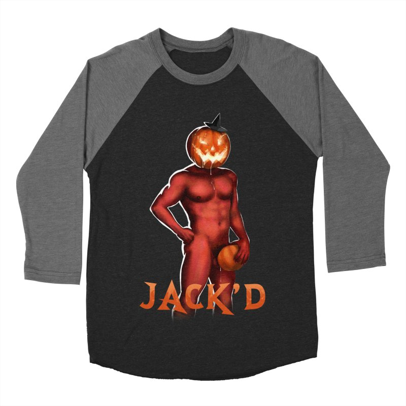 Jack'd The Headless Jock Men's Baseball Triblend Longsleeve T-Shirt by Stephen Draws's Artist Shop
