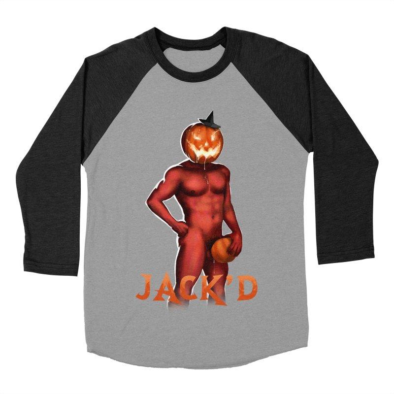 Jack'd The Headless Jock Men's Baseball Triblend Longsleeve T-Shirt by Stephen Draws's Artist Shop