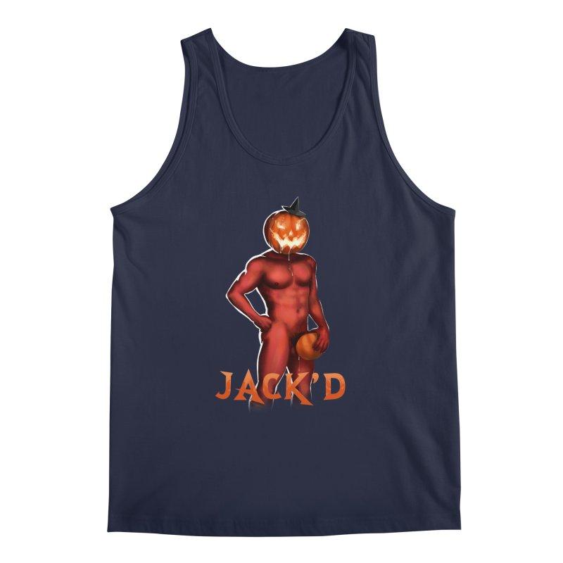 Jack'd The Headless Jock Men's Regular Tank by stephendraws's Artist Shop