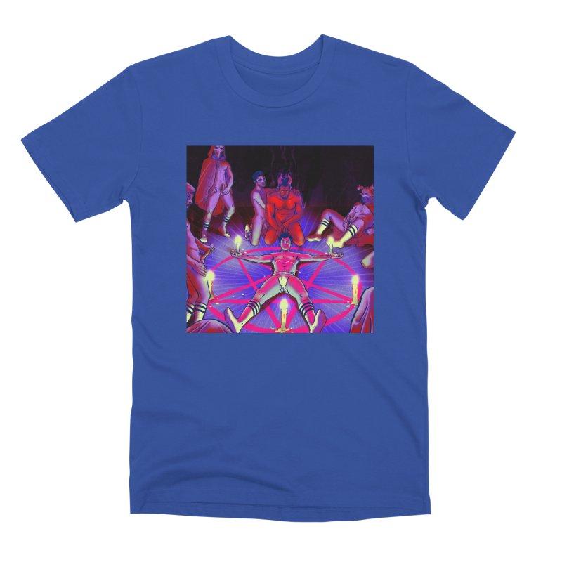 I JOINED A CULT Men's Premium T-Shirt by Stephen Draws's Artist Shop