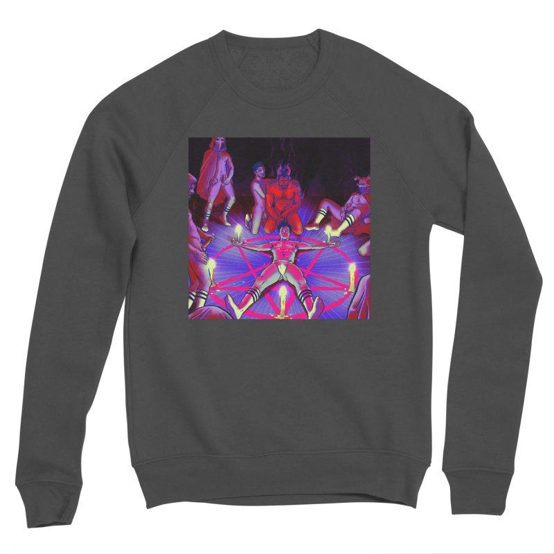 I JOINED A CULT Men's Sponge Fleece Sweatshirt by Stephen Draws's Artist Shop