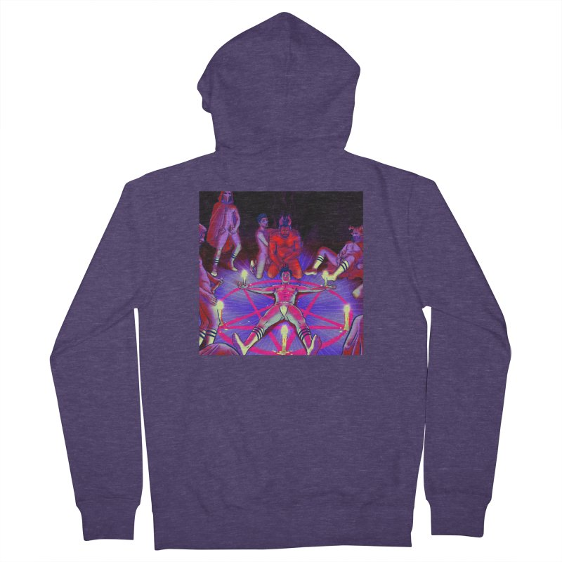 I JOINED A CULT Men's French Terry Zip-Up Hoody by Stephen Draws's Artist Shop