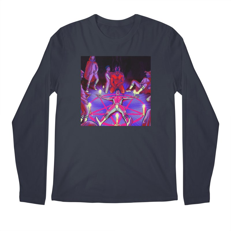 I JOINED A CULT Men's Regular Longsleeve T-Shirt by Stephen Draws's Artist Shop