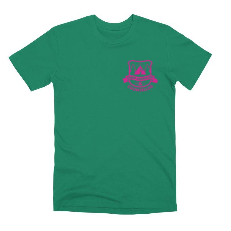 CAMP COCKALOT COUNSELLOR Men's Premium T-Shirt by Stephen Draws's Artist Shop