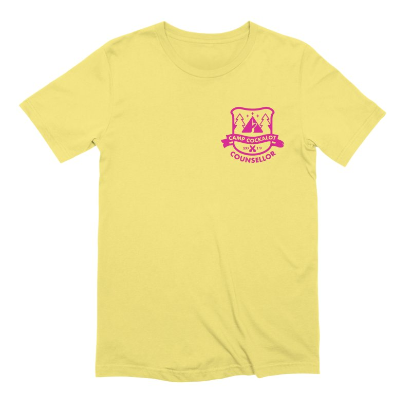CAMP COCKALOT COUNSELLOR Men's Extra Soft T-Shirt by Stephen Draws's Artist Shop