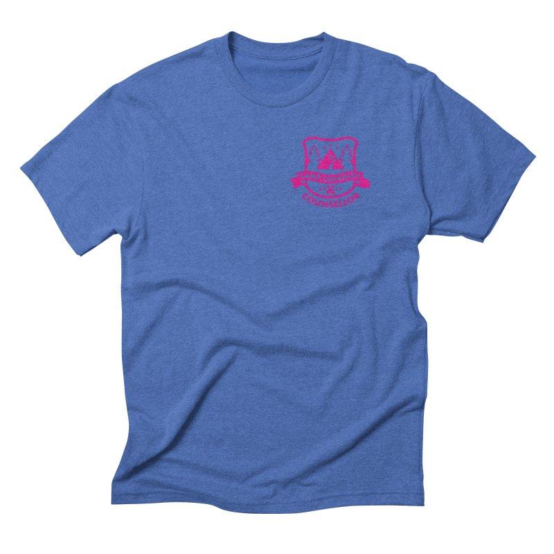 CAMP COCKALOT COUNSELLOR Men's Triblend T-Shirt by Stephen Draws's Artist Shop