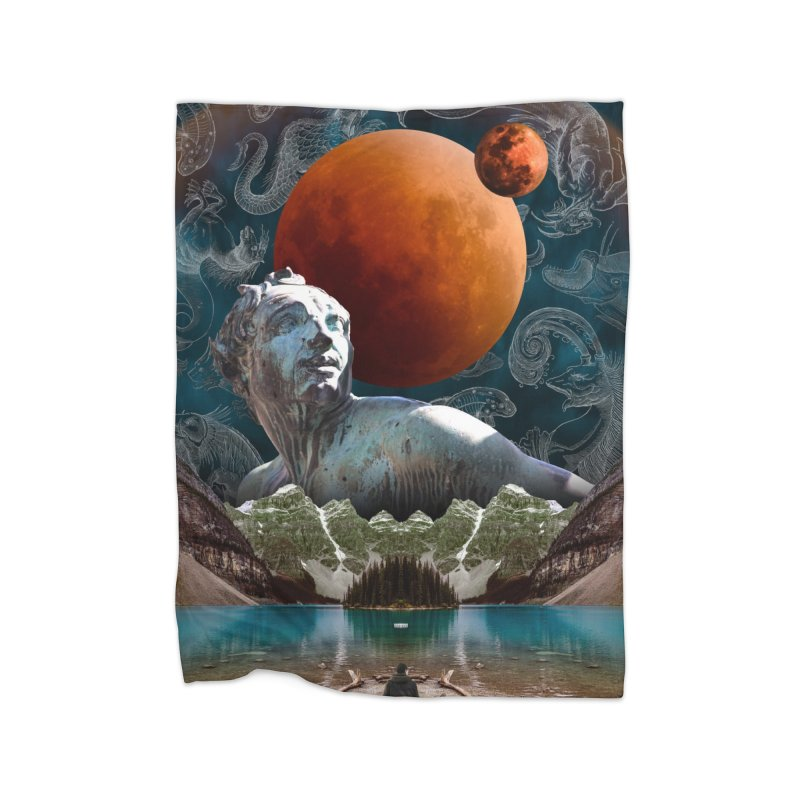 Constellation Station Home Blanket by Death Psychedelic's Artist Shop