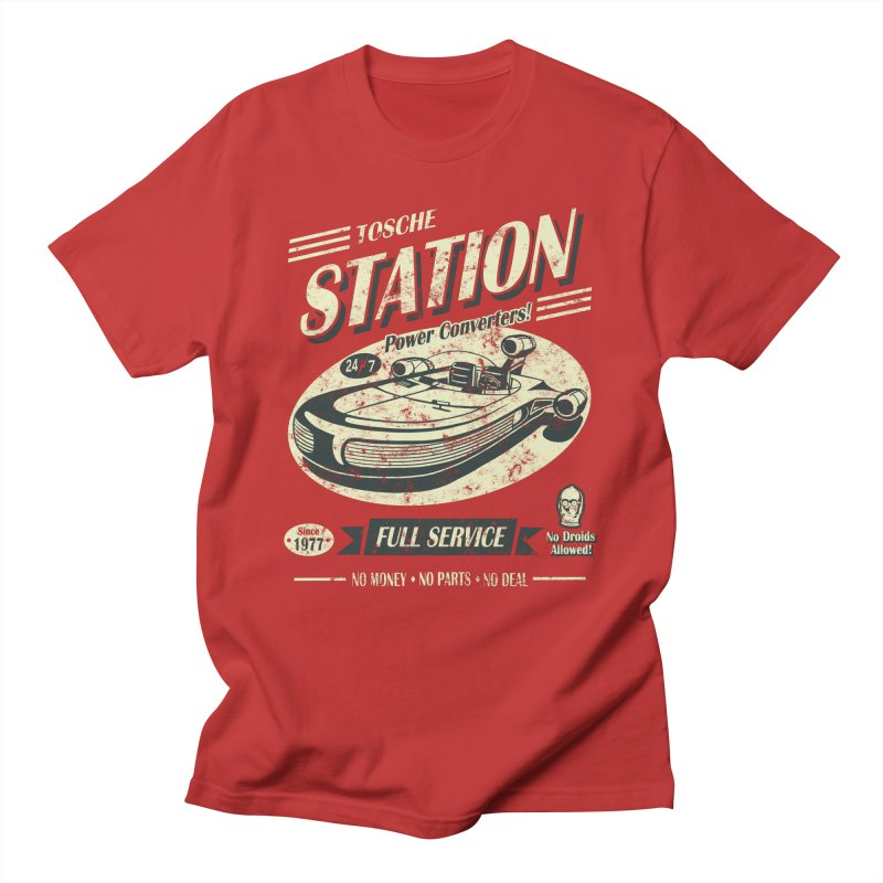 Tosche Station Men's Regular T-Shirt by Stephen Hartman Illustration Shop