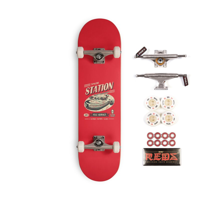 Tosche Station Accessories Complete - Pro Skateboard by Stephen Hartman Illustration Shop