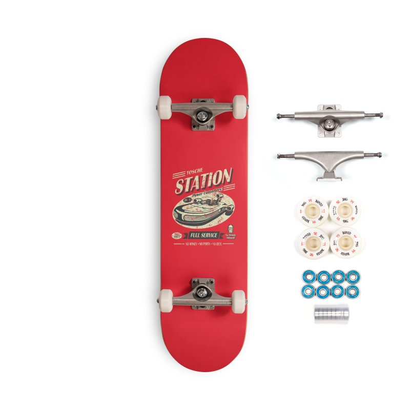 Tosche Station Accessories Complete - Premium Skateboard by Stephen Hartman Illustration Shop