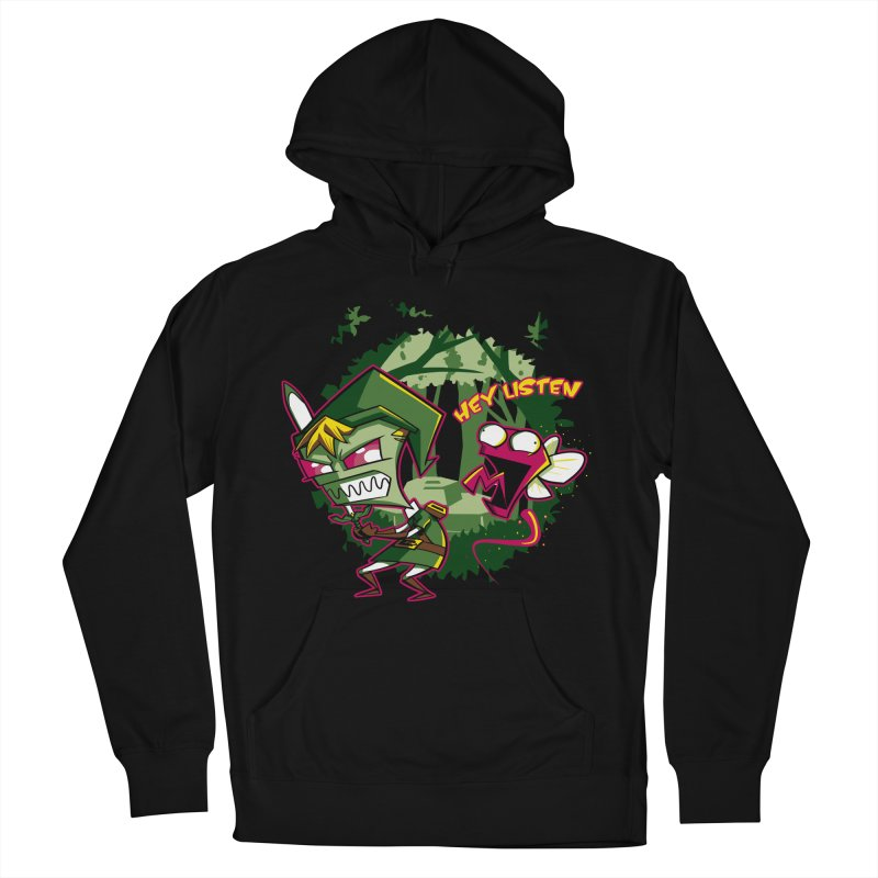 The Legend of Zim Men's French Terry Pullover Hoody by Stephen Hartman Illustration Shop