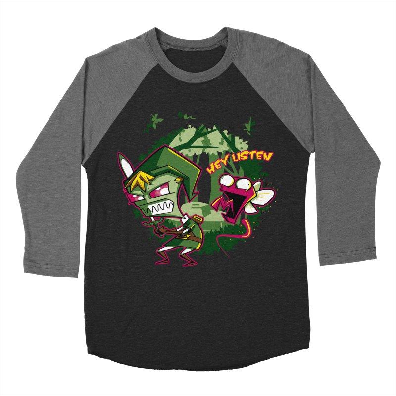 The Legend of Zim Women's Baseball Triblend T-Shirt by Stephen Hartman Illustration Shop