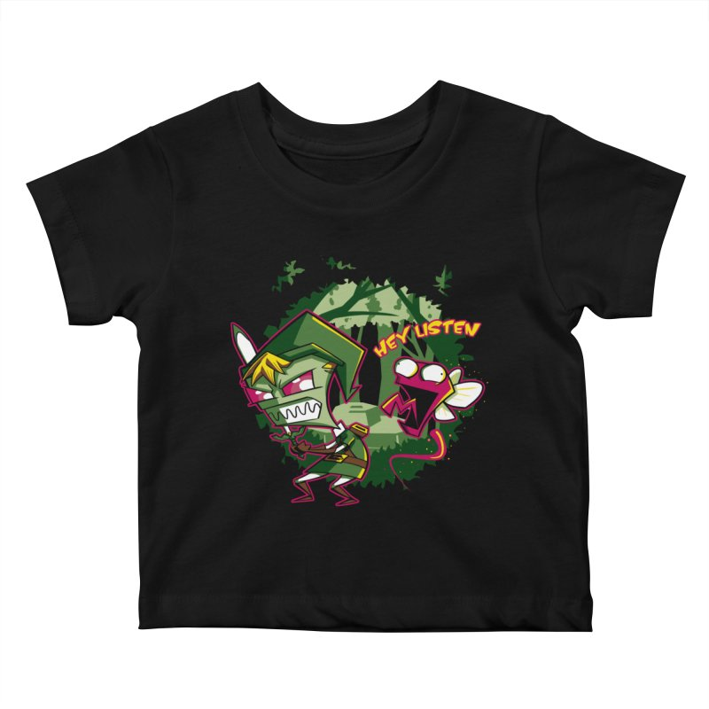 The Legend of Zim Kids Baby T-Shirt by Stephen Hartman Illustration Shop