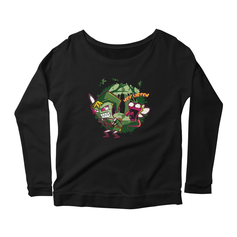 The Legend of Zim Women's Scoop Neck Longsleeve T-Shirt by Stephen Hartman Illustration Shop