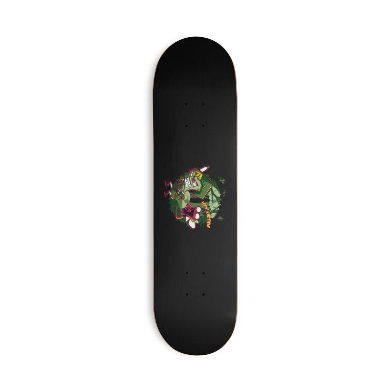 The Legend of Zim Accessories Deck Only Skateboard by Stephen Hartman Illustration Shop