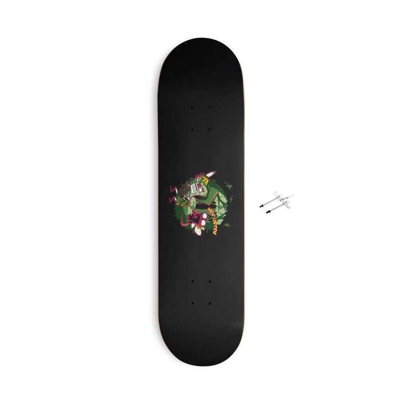 The Legend of Zim Accessories With Hanging Hardware Skateboard by Stephen Hartman Illustration Shop