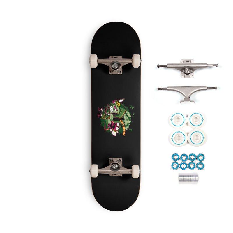 The Legend of Zim Accessories Skateboard by Stephen Hartman Illustration Shop