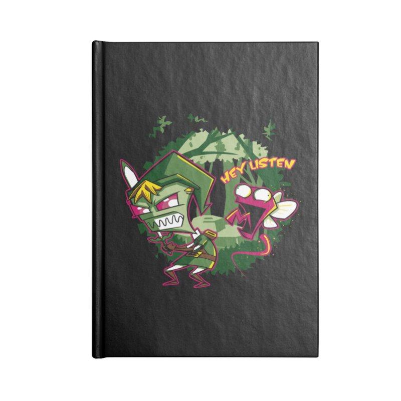 The Legend of Zim Accessories Blank Journal Notebook by Stephen Hartman Illustration Shop