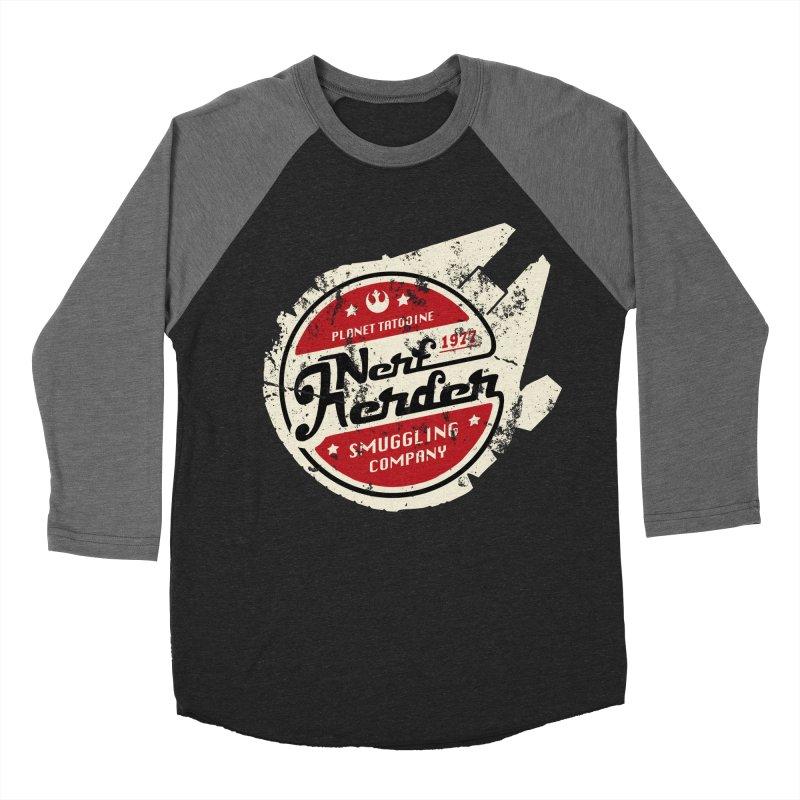 Nerf Herder Women's Baseball Triblend T-Shirt by Stephen Hartman Illustration Shop