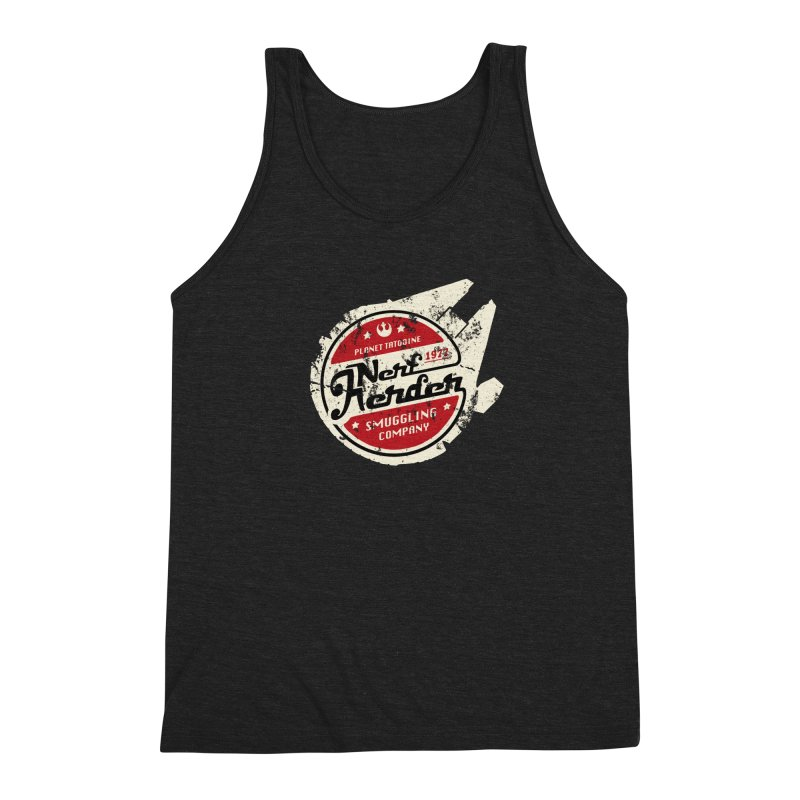 Nerf Herder Men's Triblend Tank by Stephen Hartman Illustration Shop