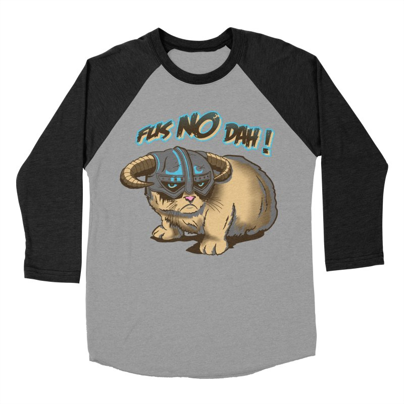 Dovahkat Men's Baseball Triblend T-Shirt by Stephen Hartman Illustration Shop