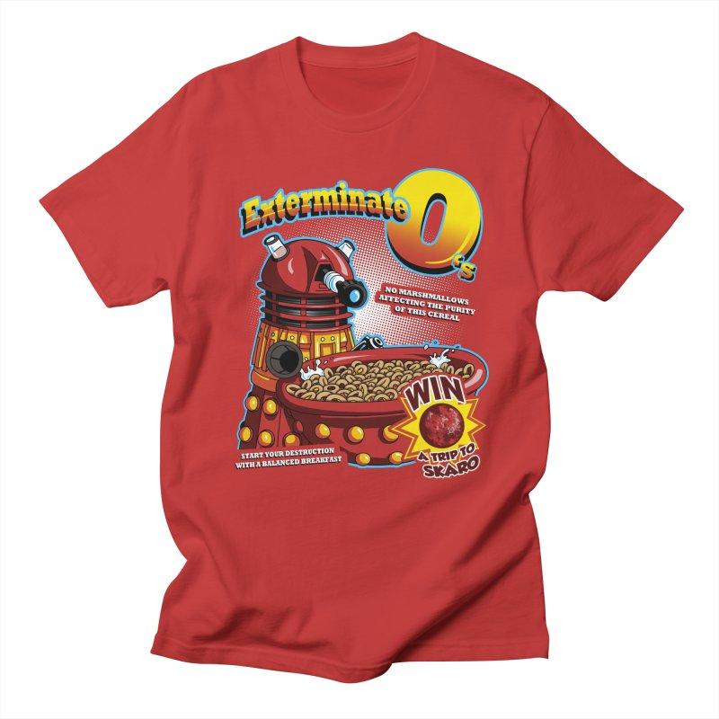 Exterminate O's Men's Regular T-Shirt by Stephen Hartman Illustration Shop