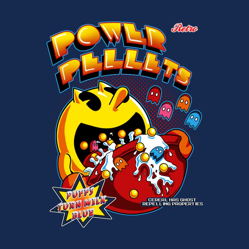 Power Pellets by Stephen Hartman Illustration Shop