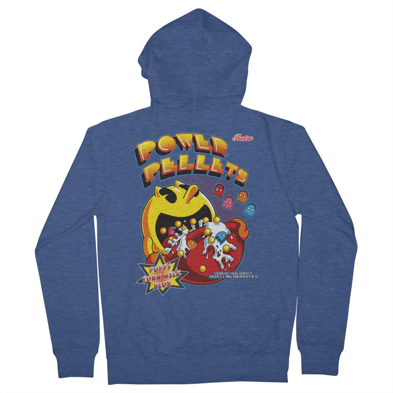 Power Pellets Women's Zip-Up Hoody by Stephen Hartman Illustration Shop