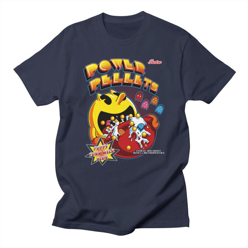 Power Pellets Men's T-shirt by Stephen Hartman Illustration Shop