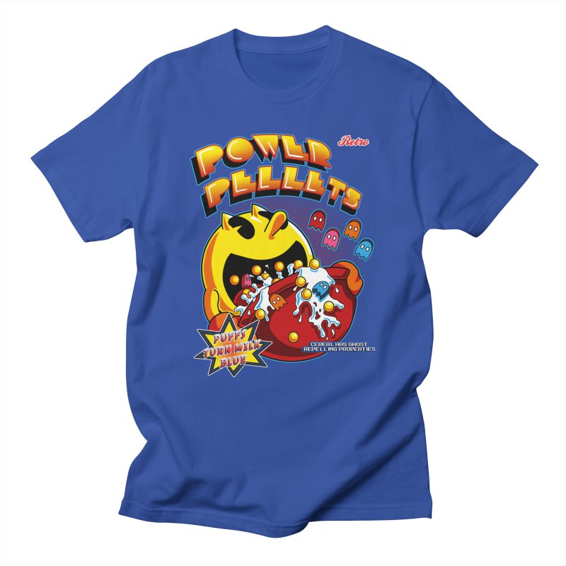 Power Pellets Men's T-Shirt by Stephen Hartman Illustration Shop