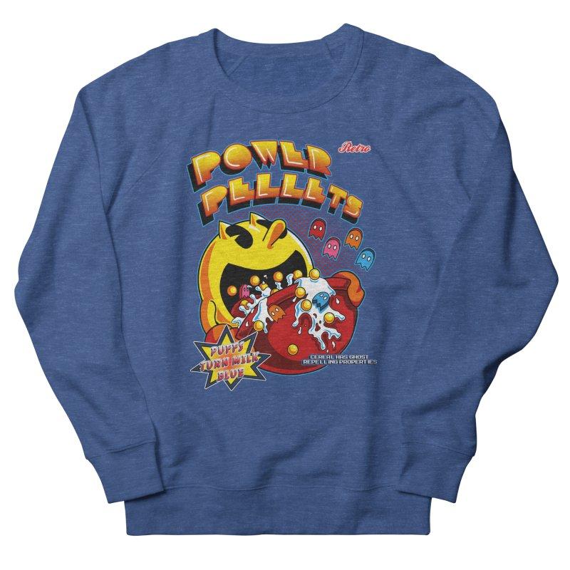Power Pellets Women's Sweatshirt by Stephen Hartman Illustration Shop
