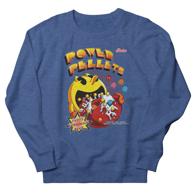 Power Pellets Men's Sweatshirt by Stephen Hartman Illustration Shop