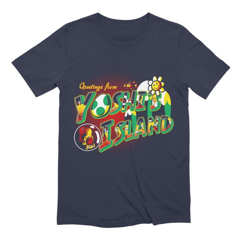 Plumber Paradise Men's Extra Soft T-Shirt by Stephen Hartman Illustration Shop