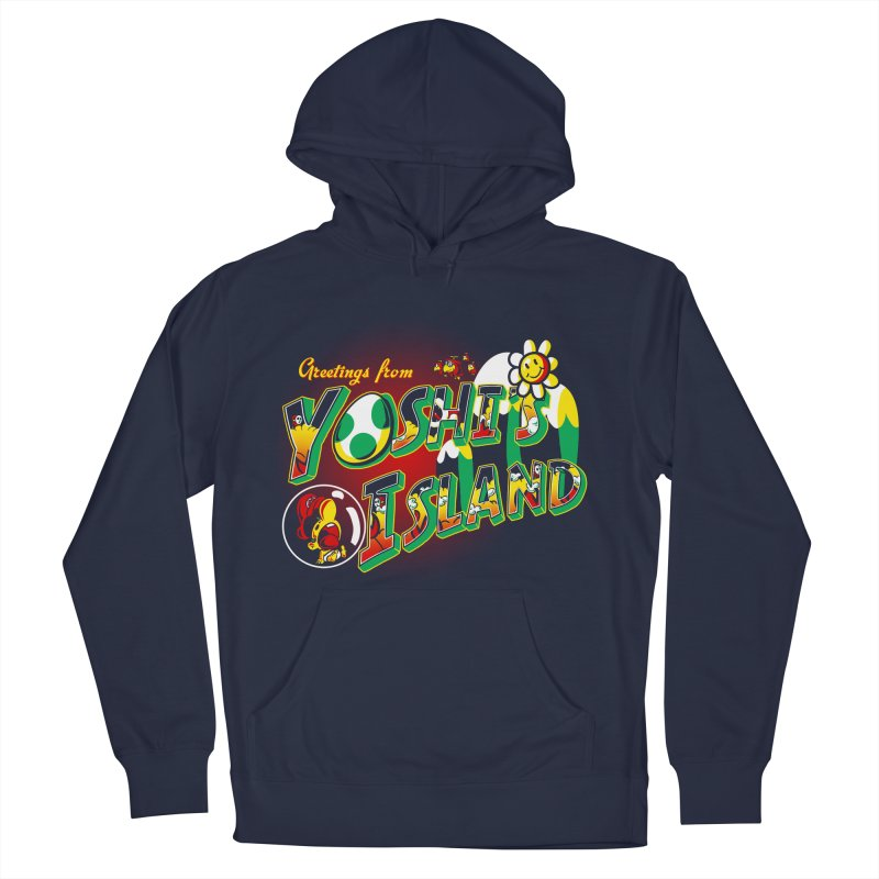Plumber Paradise Men's Pullover Hoody by Stephen Hartman Illustration Shop