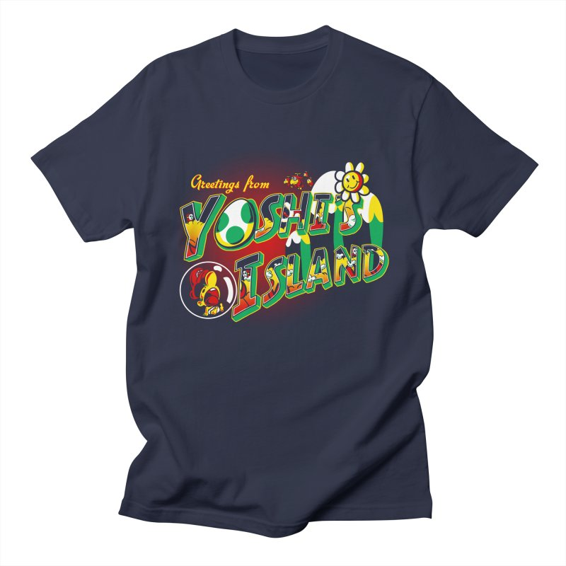 Plumber Paradise Men's T-Shirt by Stephen Hartman Illustration Shop