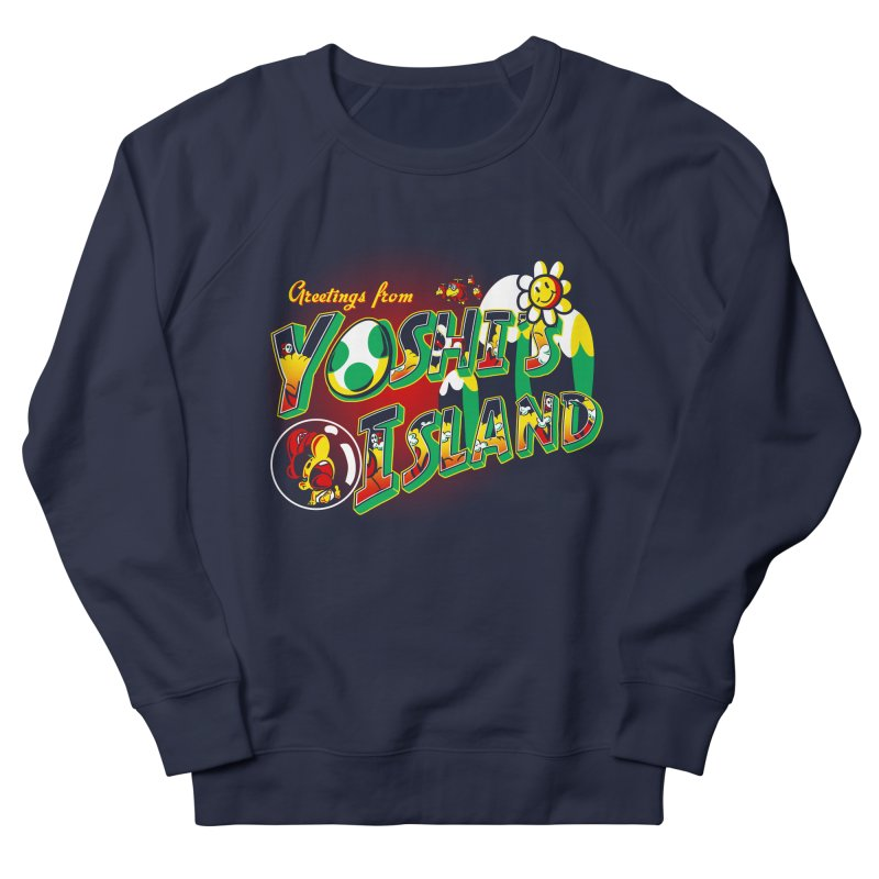 Plumber Paradise Men's Sweatshirt by Stephen Hartman Illustration Shop